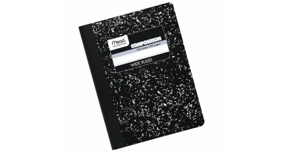 Marble Notebook Nostalgia